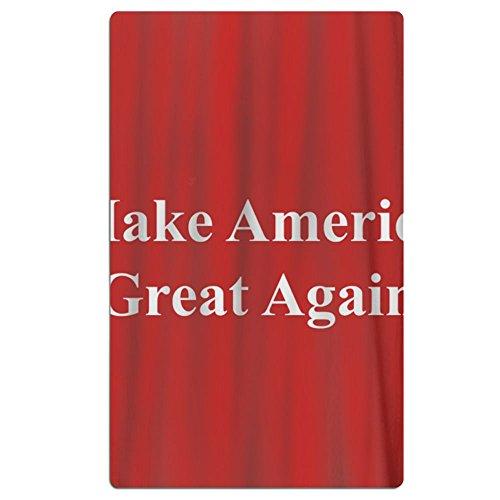FSKDOM 100% Cotton Plush Make America Great Again Oversize L