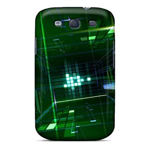 For Galaxy S3 Premium Tpu Case Cover 3d Space Protective Case