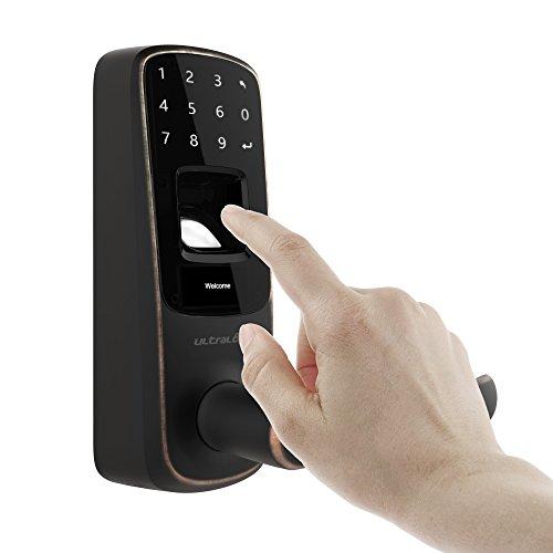 Ultraloq UL3 BT Bluetooth Enabled Fingerprint and Touchscreen Smart Lock (Aged Bronze) by Ultraloq (Image #3)