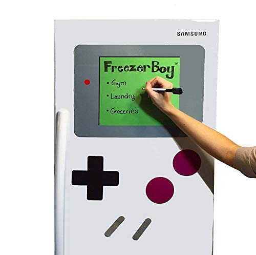 FreezerBoy (TM) Dry-Erase Whiteboard Refrigerator Magnets