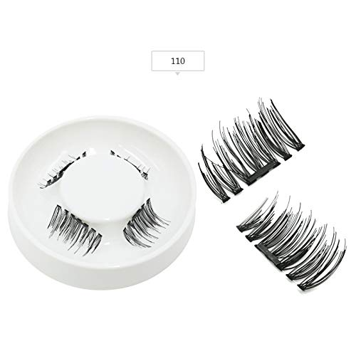 Amazon.com : Magnetic Eyelashes False Eyelashes On Magnets Reusable Magnetic Extension Fake Eye Lashes Soft Easy To Wear Gift Cilios Natural : Beauty
