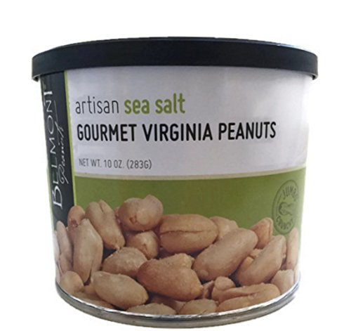 Belmont Peanuts Artisan Gourmet Virginia Peanuts (Sea Salt, 10 oz) ()