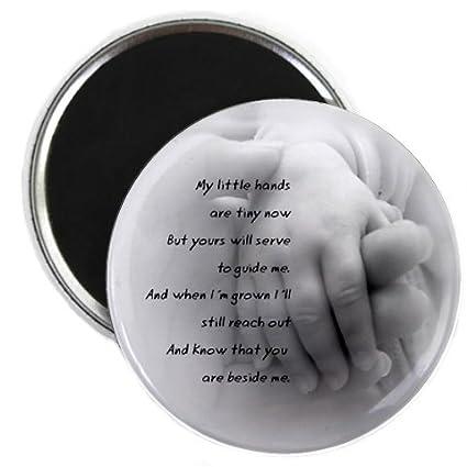 Amazon.com: BABY HANDS POEM Newborn Gift 2.25 inch Fridge Magnet ...