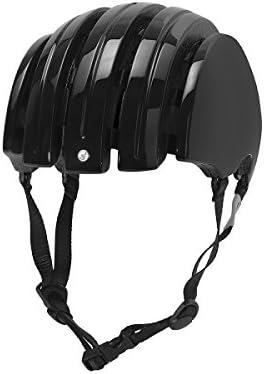 Amazon.com: Carrera Foldable Basic Negro Brillante Casco de ...