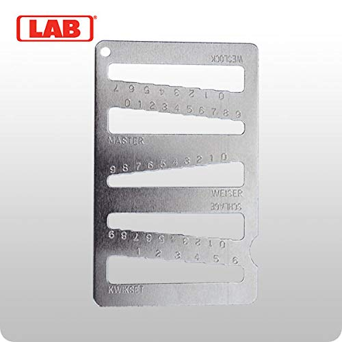 LAB LKG001 5 N 1 Key Gauge ()