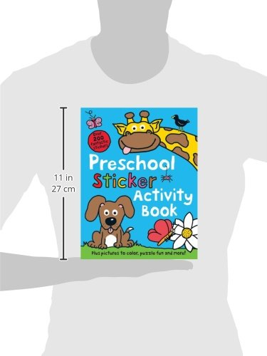 Preschool Color & Activity Book: Roger Priddy: 9780312513177 ...
