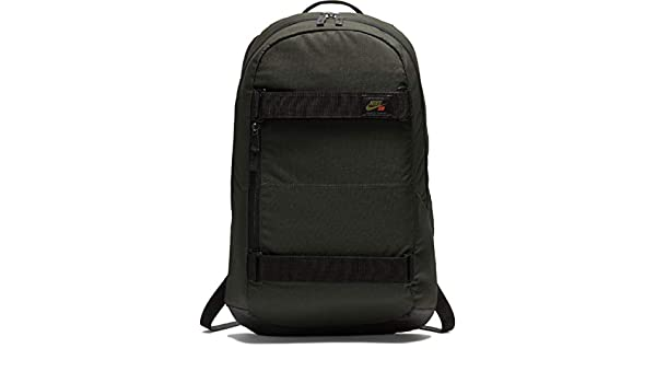 8dc28f4caf Amazon.com: Nike Mens SB Courthouse Backpack BA5305-357 - SEQUOIA/BLACK/ OLIVE FLAK: Clothing