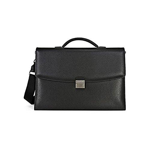 Montblanc Sartorial Double Gusset Briefcase - Black