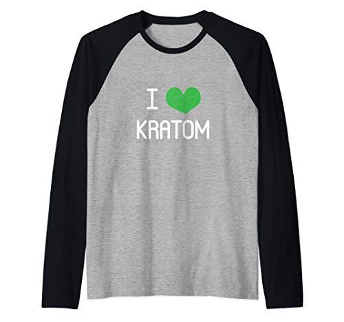 Keep Kratom Legal Gift for Kratom Advocate Men and Women Raglan Baseball Tee