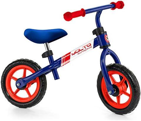 M MOLTO Bicicleta sin Pedales Infantil Minibike Azul: Amazon.es ...