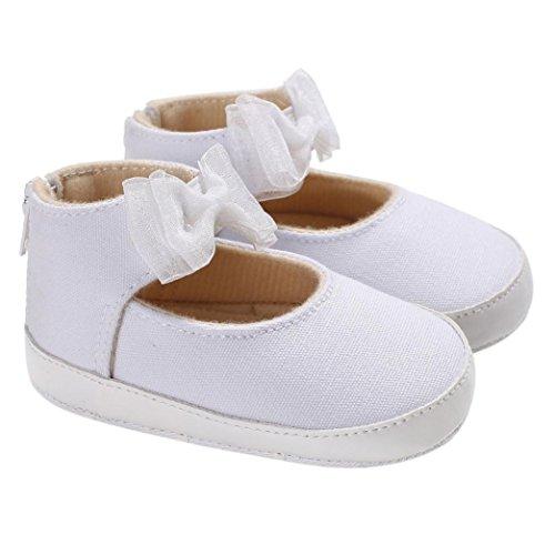 Krippe Baby Kindermädchen Sohlen Weiß neugeborene Kleinkind Clode® weiche Schuhe Kind qZaTvwT6