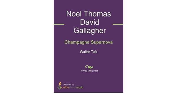 Champagne Supernova eBook: Noel Thomas David Gallagher