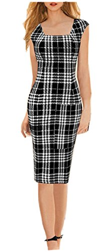 YEEZ Womens Square Formal Pencil