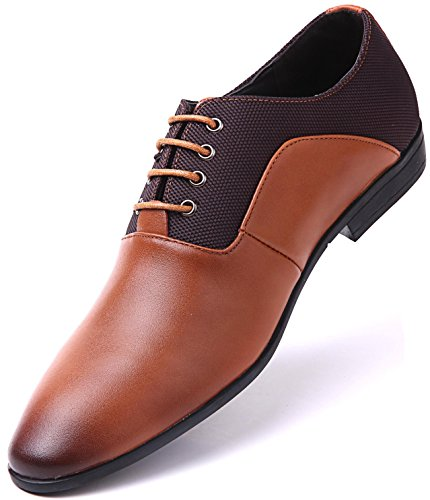 Classic Zone Margin Oxfords, Tan - Classic Oxford, 11 D(M) US - Ultimate Work Oxford