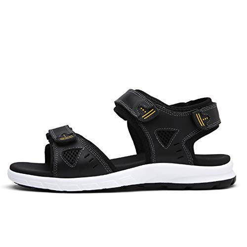 CM Neri Sports Magic Wagsiyi Sandal Traspiranti Outdoor 0 23 Scarpe pantofole Beach Men's spiaggia 0 Shoe Nero da 27 Sandali Stick AIqaqBv