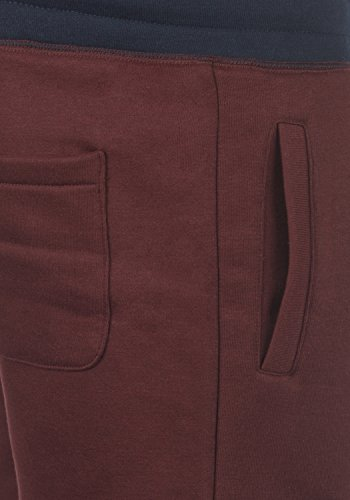 Pantaloncini Da Benni 0985 Red Pantaloni Wine Uomo Shorts Felpa Corti solid pfnq5T