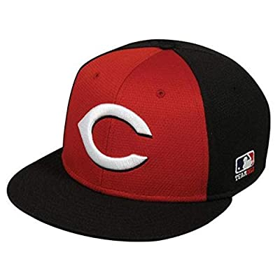 Cincinnati Reds Alternate 2-Tone MLB Mesh Replica Adjustable Baseball Cap Hat (Youth 6 3/8 to 7 Ages 6 to 12 Years)