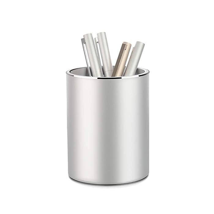 Top 8 Desktop Pencil Holder Silver Mesh