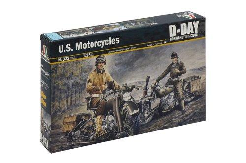 Italeri 510000322–1: 35U.S. Motorcycles WWII from Italeri