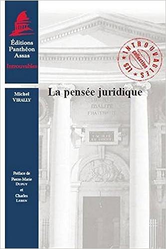 formation pensee juridique moderne la nouvelle edition