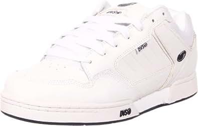 DVS Men's Transom Skate Shoe,White Leather FA 12,10 D US