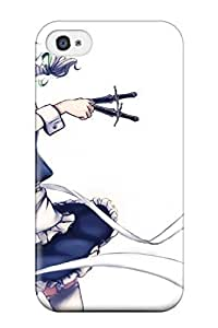 1055958K600473477 maidss izayoi sakuya knivesband Anime Pop Culture Hard Plastic iphone 5c cases