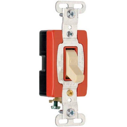 PASS & SEYMOUR CS120ICC 20A IVY SP Tog Switch ()