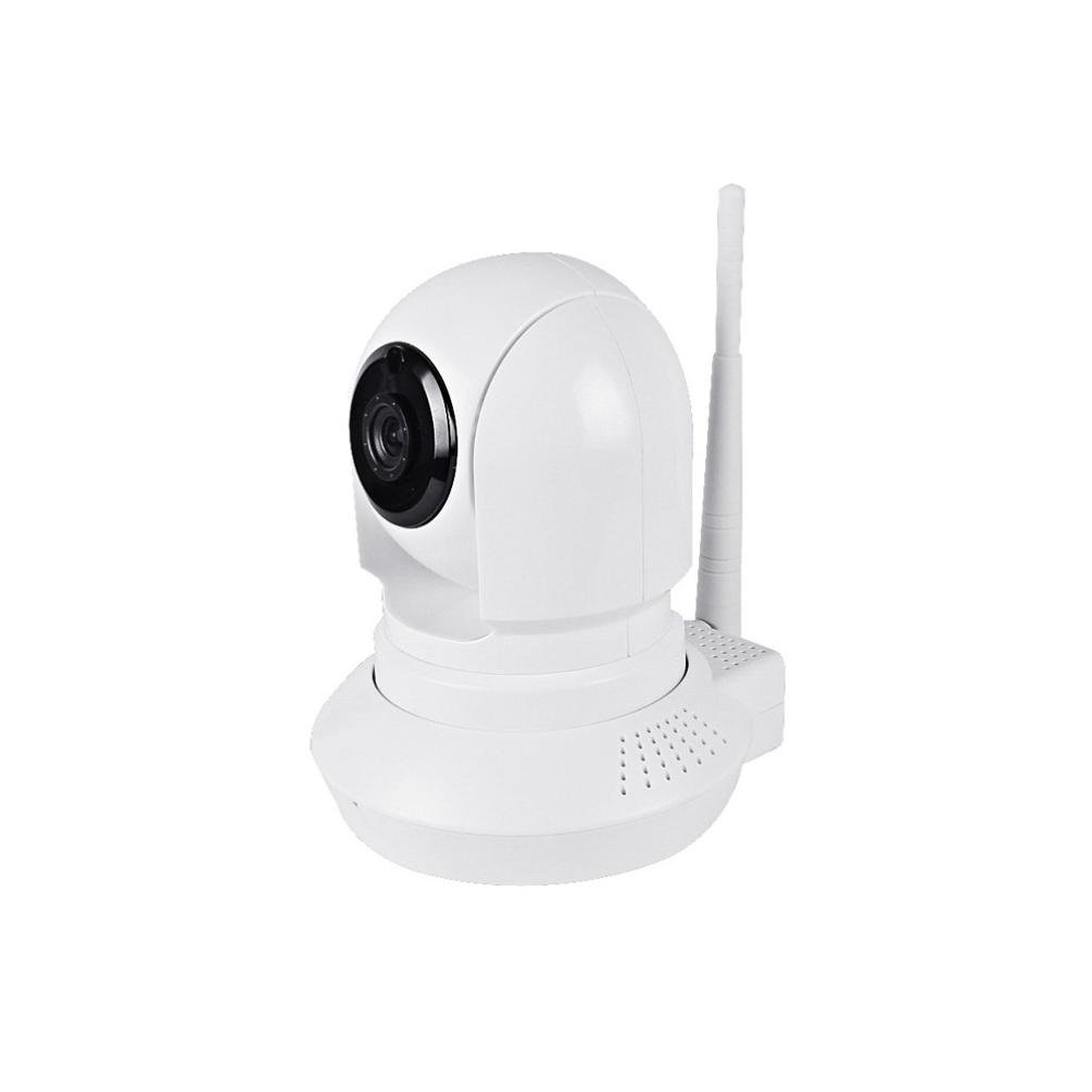 H+K+L Smart Camera Webcam 1280x720p Wireless Wifi Smart Camera Motion Detection Built-in Microphone (white)