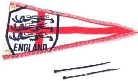 Car Aerial Flag Red St Georges World Cup England Pennant Scooter Aerial Flag Ideal Gift