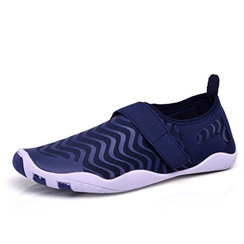 acqua a antiscivolo da Scarpe Yoga donna Running spiaggia GAOLIXIA Nuoto da e da da fitness Scarpe uomo immersione Shoes Dry Scarpe Quick Blue piedi per da nudi Scarpe Calzature coppia XqHRR8w1