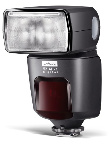 Metz MZ 52312OP 52AF-1 Digital Flash for Olympus/Panasonic (Black)