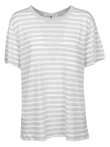 shirt Gris Alexander T Wang 4c491020a4942 Algodon Mujer qPaOY