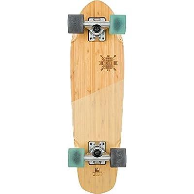 Globe HG Blazer Skateboard, Bamboo/Almond, 26