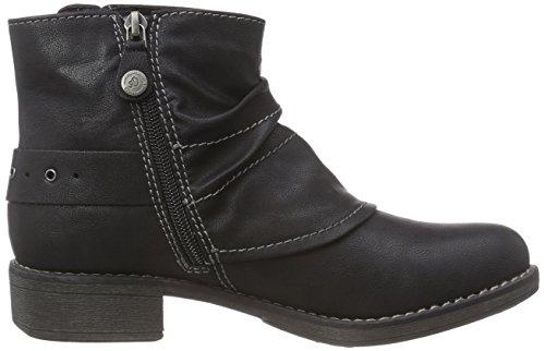 s.Oliver 2531 - botas de material sintético mujer negro - negro