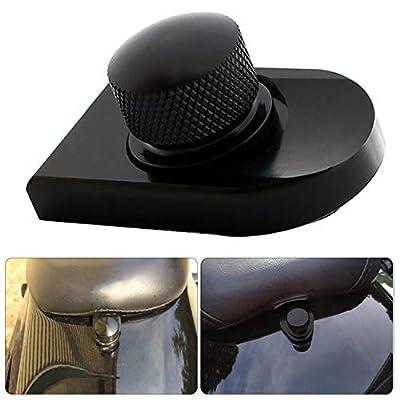 buyinhouse Seat Bolt Tab Screw Mount Knob Cover for Harley Fatboy Road King Softail Black 1996-2020: Automotive [5Bkhe1516112]