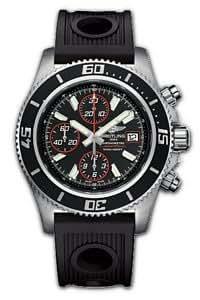 Breitling A13341-1518 - Reloj de pulsera hombre, caucho