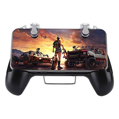 Mobile Phone Gamepad High Sensitive Handle Game Conroller High Performance Suitable for Android and for IOS, Adapt to 4.5-7.0 Mobile Phone Comes with Charging Treasure. (2200)