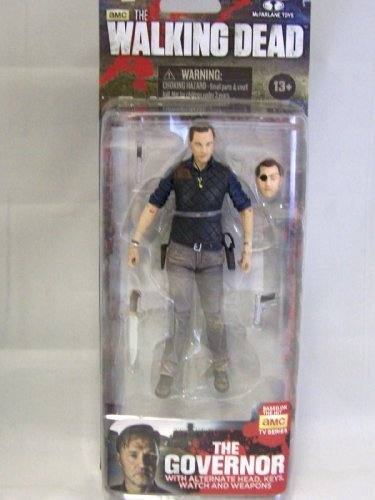 2013 Mcfarlane The Walking Dead TV Show Series 4 Action Figure - The Governor