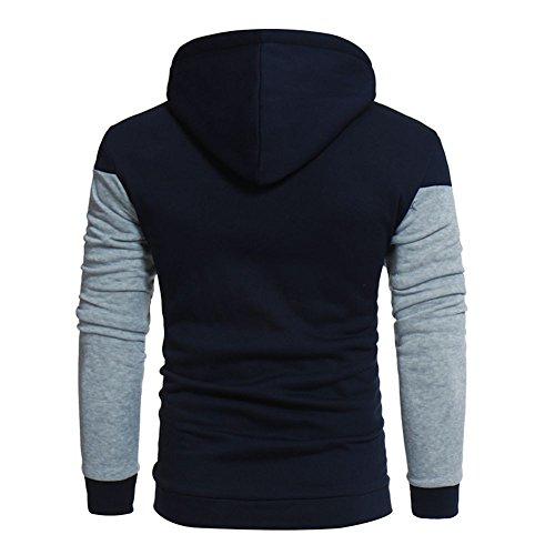 Longues Homme sweat Saison Dtuta pull À Nouvelle shirt Maillot V De Et shirt Manches Blanc Gris En Capuche Hiver T Chemise Maille Col 4xqwfqEvz