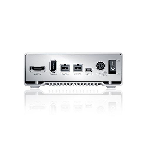 Sans Digital TS1CT TowerSTOR 1 Bay SATA to USB 2.0/eSATA/1394a/1394b Enclosure with Heat Sink by Sans Digital (Image #1)