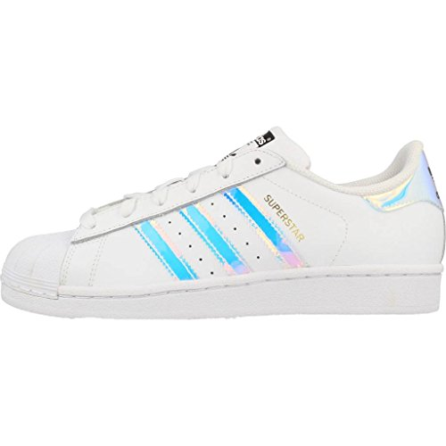Superstar FTWWHT adidas Low FTWWHT Top Kinder J Unisex METSIL gwqEwR