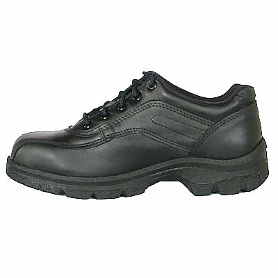 (Thorogood 804-6908 Men's Soft Streets Series Double Track Safety Toe Oxford, Black - 12 D(M) US)