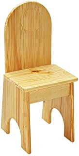 product image for Little Colorado Solid Back Chair, Unfinished