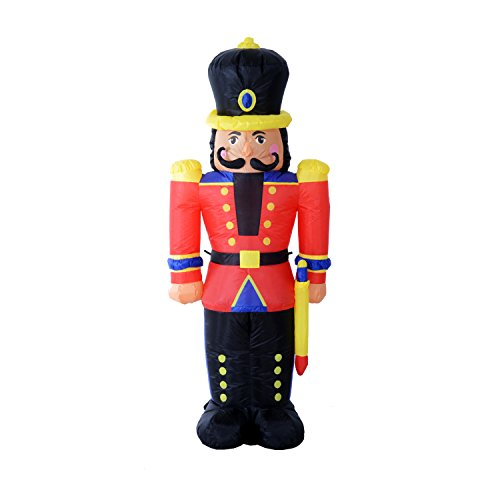 Outdoor Lighted Nutcracker Soldier - 2
