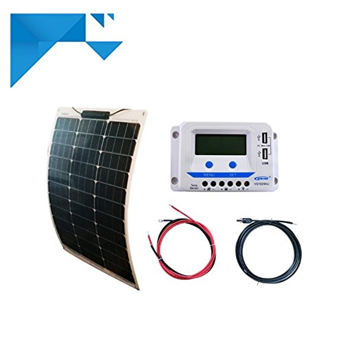 Kit solaire 50W 12V souple EPEVER-pour bateau camping car NEWENERGYECO