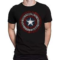 Camiseta Capitão America - Masculina