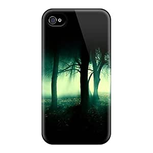 New KLDCQII5295YGVRO Dark Forest Skin Case Cover Shatterproof Case For Iphone 4/4s
