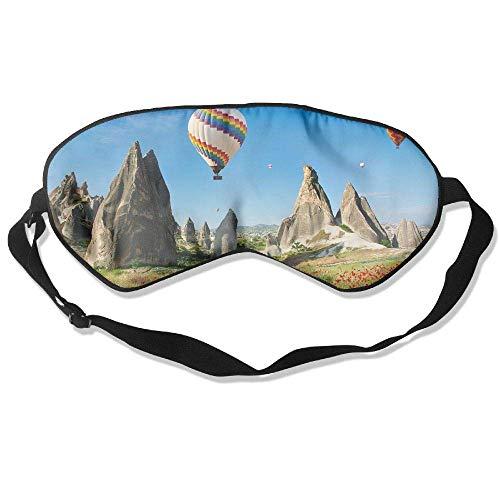 Sleep Eye Mask Hot Air Balloon Lightweight Soft Blindfold Adjustable Head Strap Eyeshade Travel Eyepatch M21