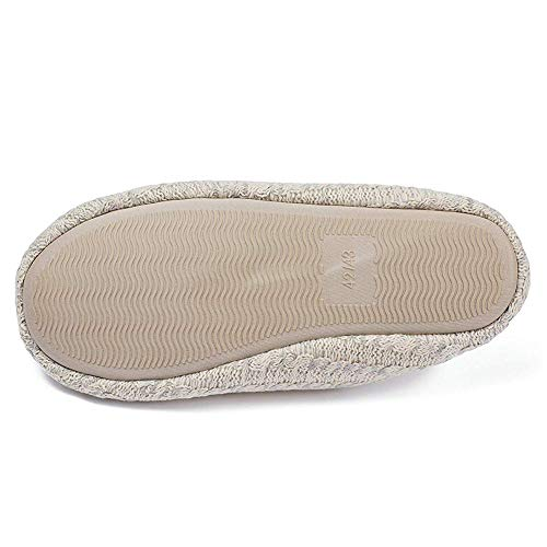 Knitted Anti House Grey Light Home Memory Cotton Slippers Foam Feicy Shoes Soft Women Shoes Slip Cashmere Indoor qgExYPw