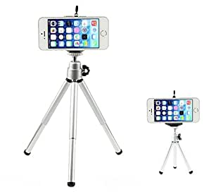Aluminum Tripod Monopod Mount Holder for iPhone 6/iphone 6 plus-Silver